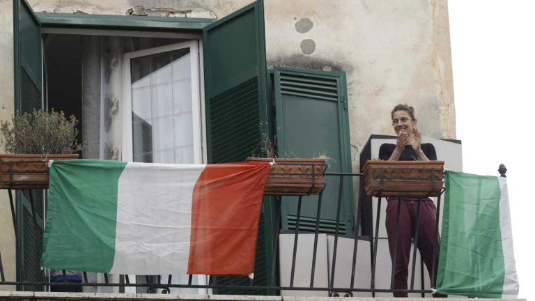 Italians Sing Out From Balconies to Lift Spirits Amid Coronavirus Lockdown