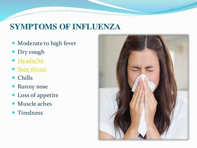 Symptoms Of Common cold
