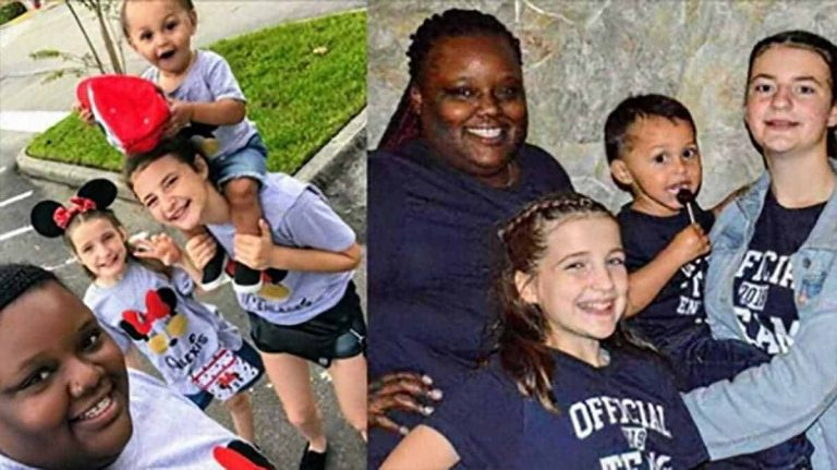 """""""Love Has no Color in My Home"""" Single Foster Mom Starts Her Journey With The Family Of Four"""