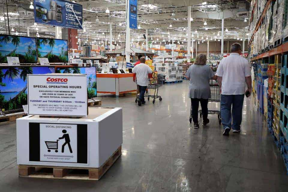 SENIOR SHOPPING HOURS IN COSTCO