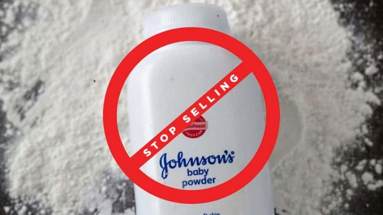 J&J to Stop Sales talc-based baby powder in Canada
