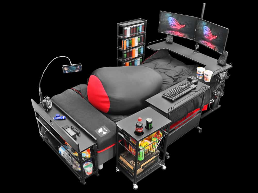 THE NEW DEFINITIVE GAMING STYLE  BED