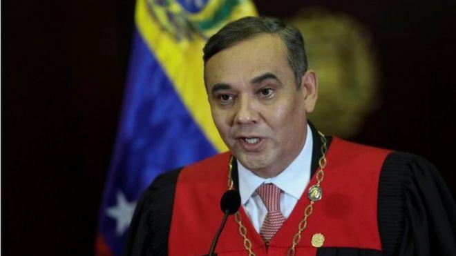 The US provides $5m for arrest of Venezuela top judge