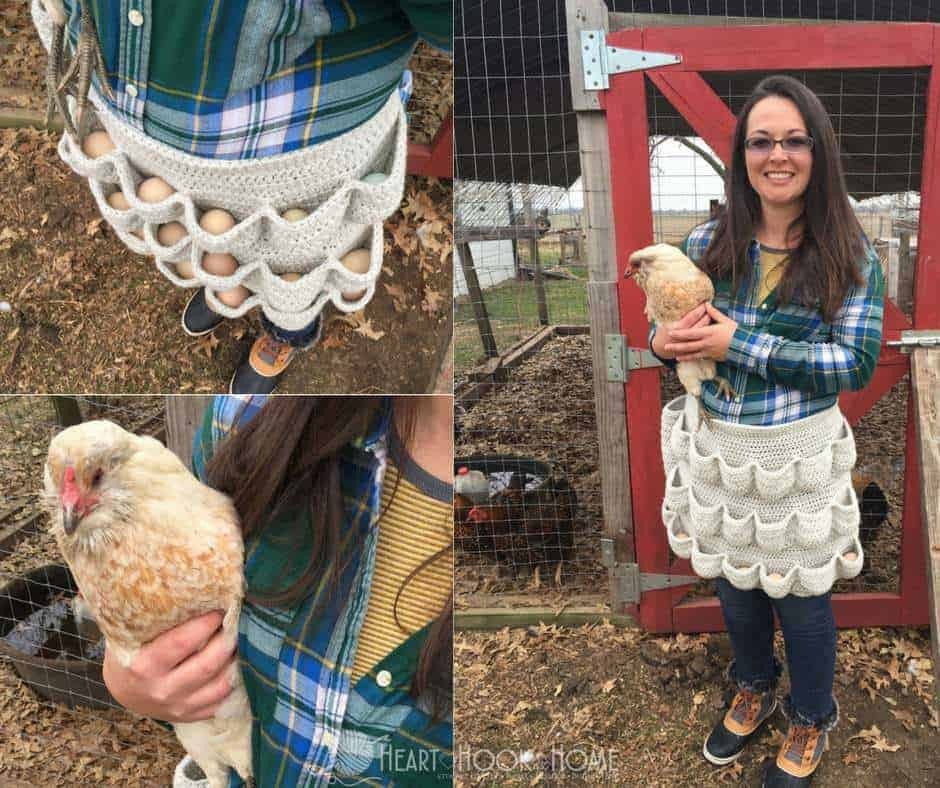 Crochet Egg Apron