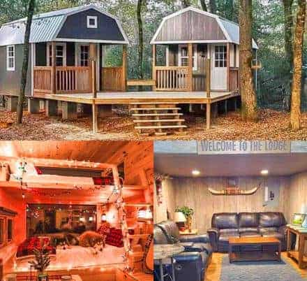 The We-shed, a Couple Shed for Him and Her with a Conjoined Deck