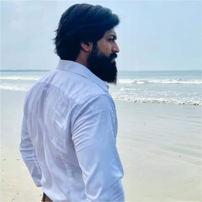 Yash Shares Photo And Resumes KGF Chapter 2 Shooting And Says 'Rocky Sets Sail From Today'