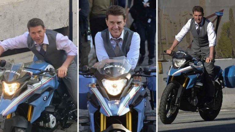 Tom Cruise To Ride A G310 GS Italian Polizei Bike For Mission Impossible