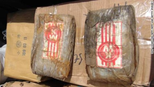 A Ghost Boat Carrying 1,400 Pounds of Cocaine Washes Up On Pacific Island